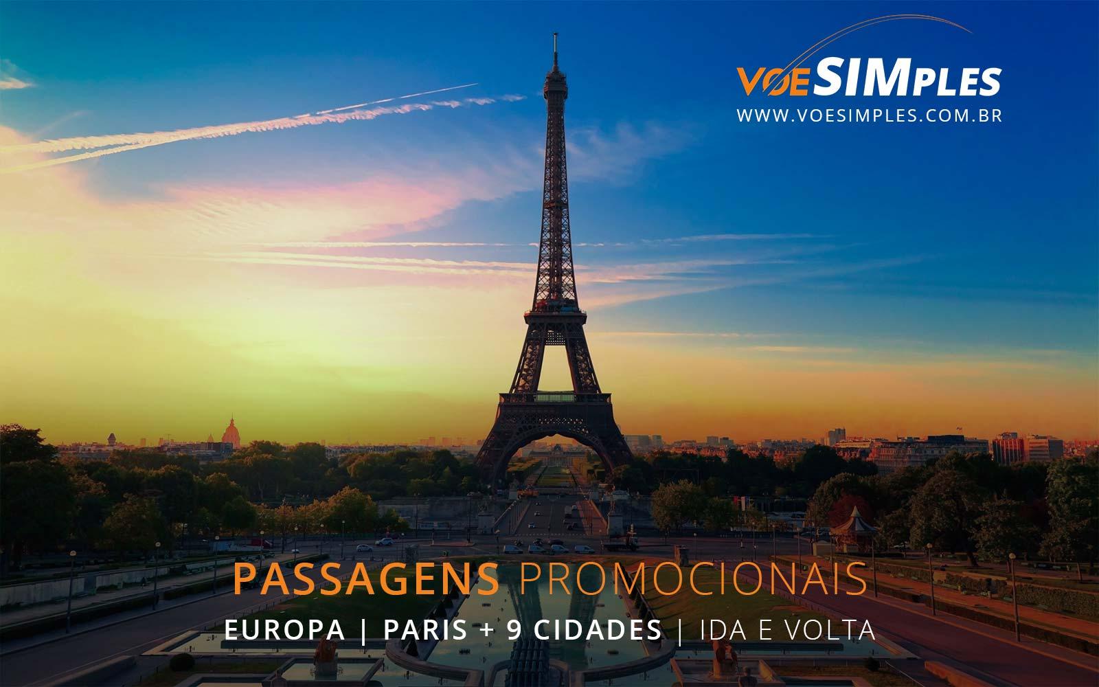Passagens aéreas promocionais para o Natal e Reveillon na Europa.