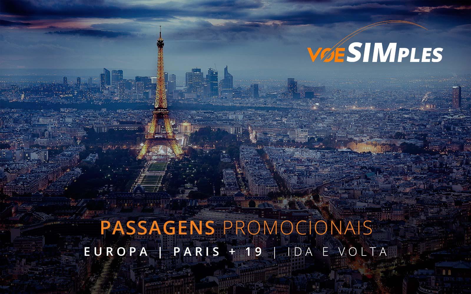 Passagens aéreas promocionais para Barcelona, Paris, Londres, Roma e Veneza na Europa