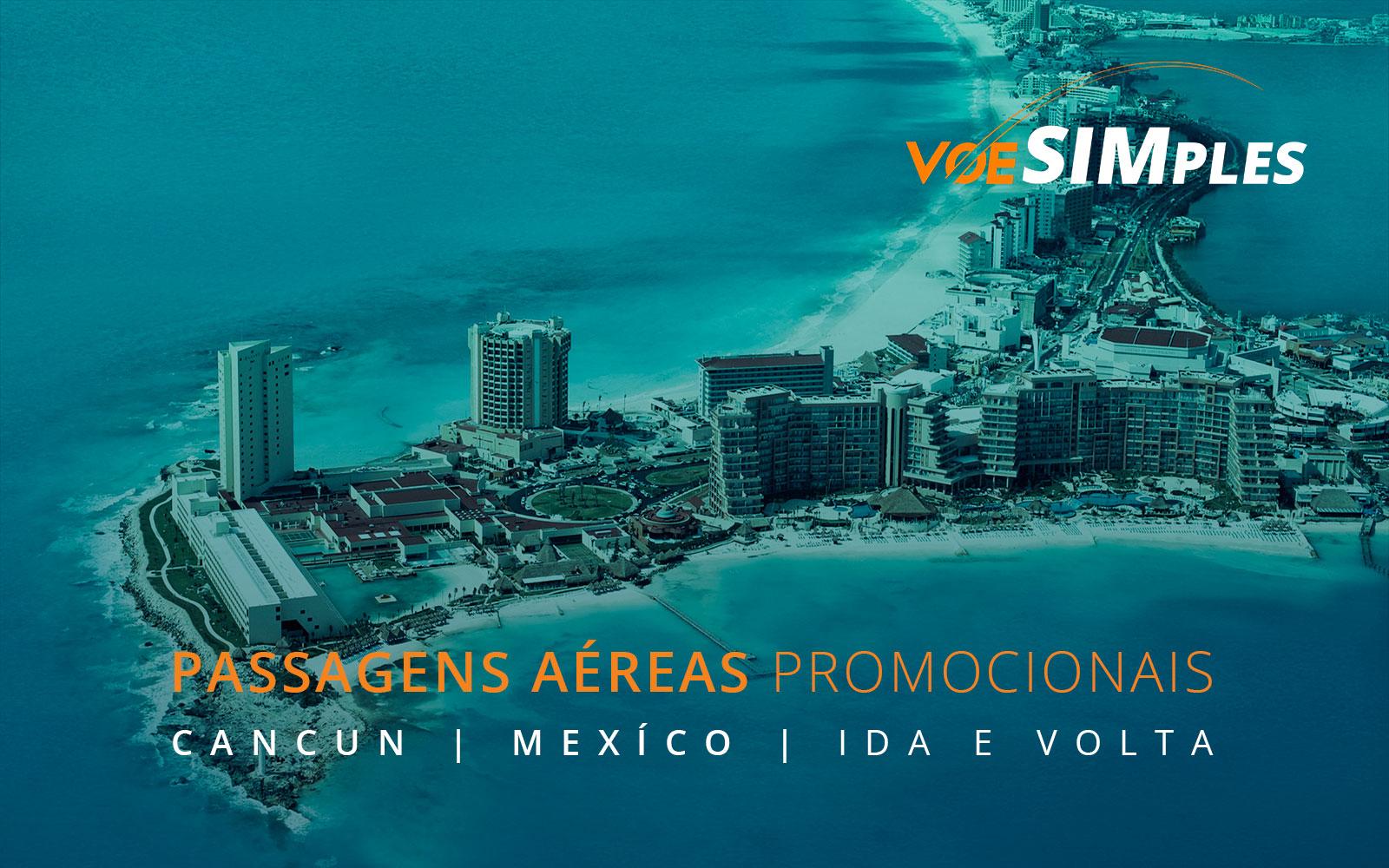 Passagens aéreas promocionais para o México