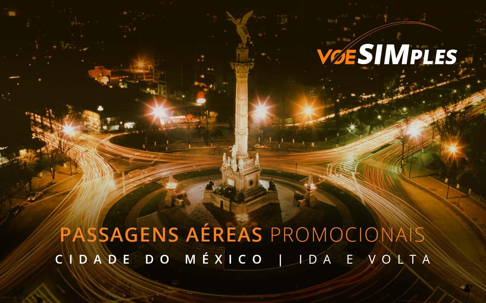 Promoção de passagens aéreas para a Cidade do México