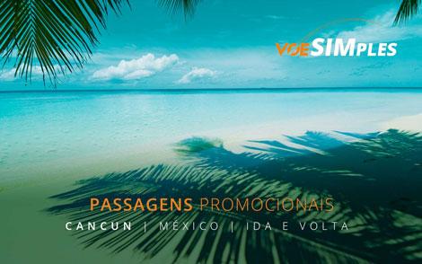 Imperdível! Promoção de passagens aéreas para Cancun: a partir de R$ 1.106,00 ida e volta!