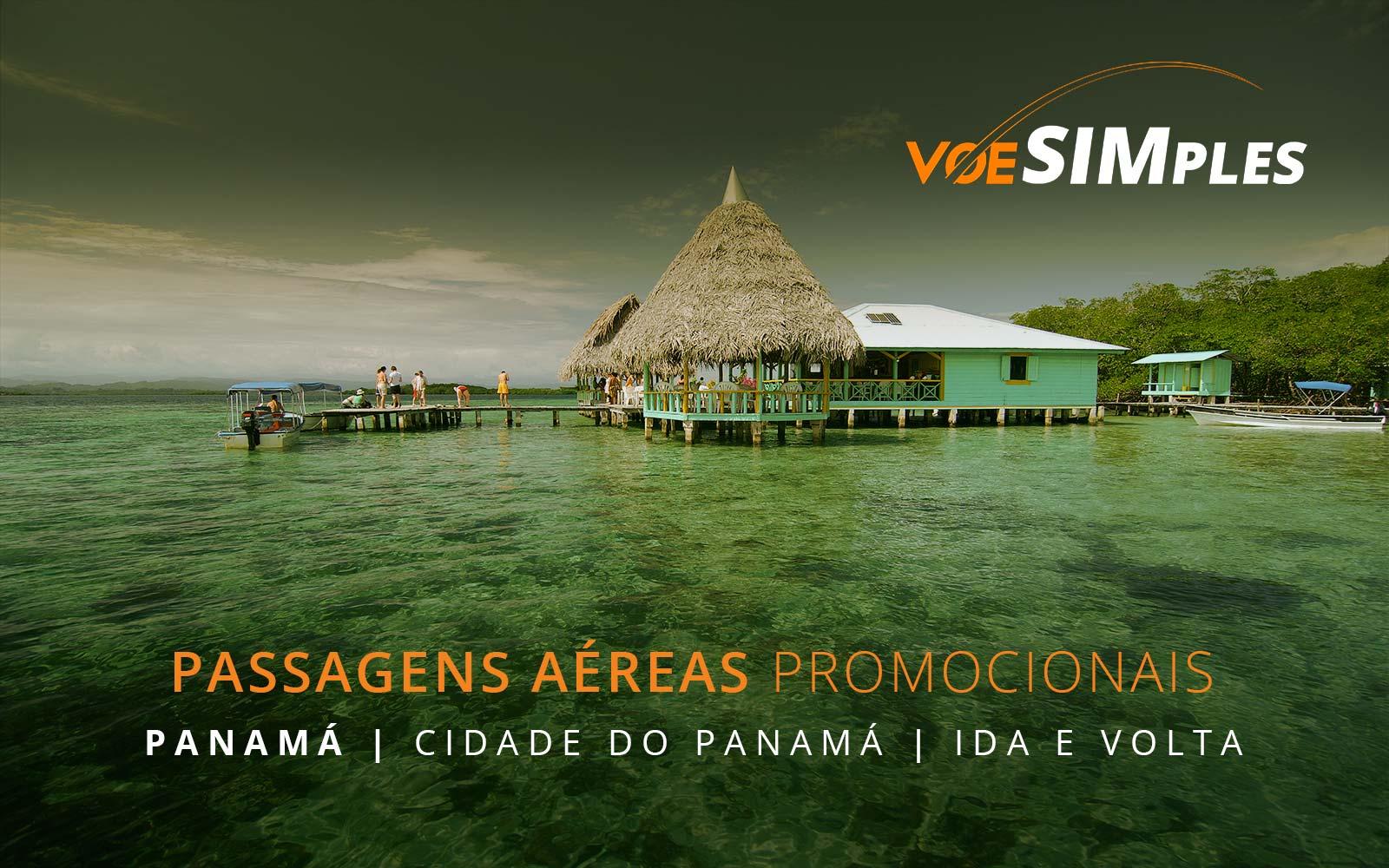 Promoção de passagens aéreas para a Cidade do Panamá no Panamá