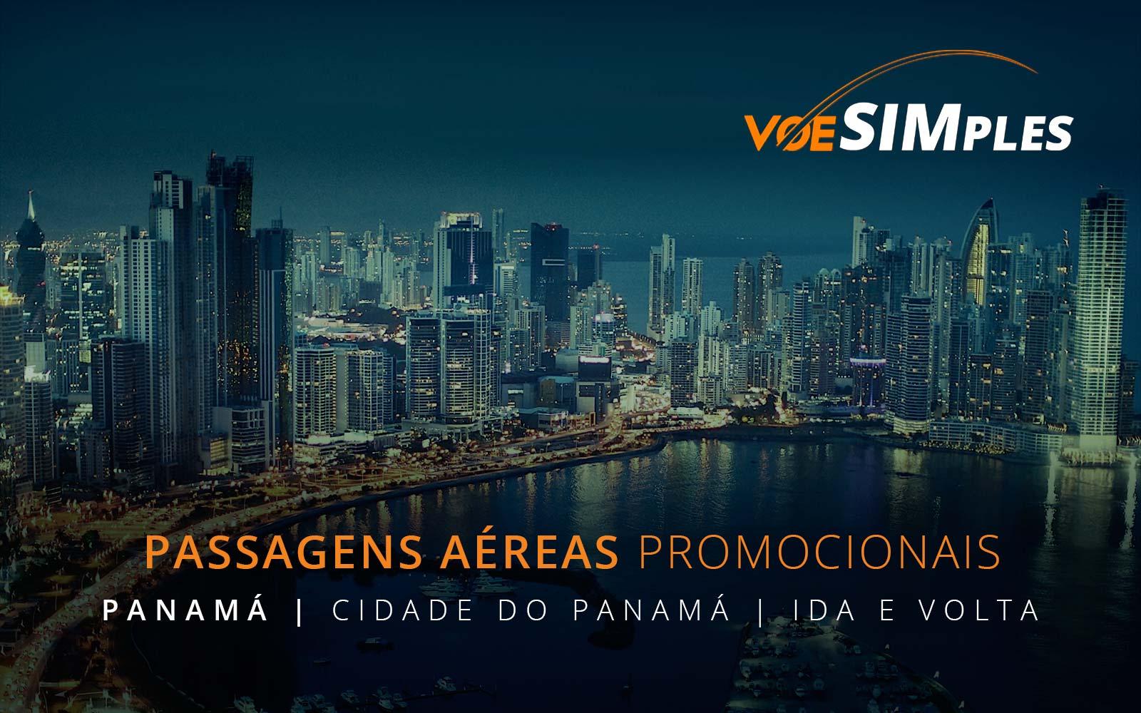 Passagens aéreas promocionais para o Panamá