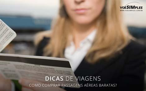 comprar passagens aéreas baratas