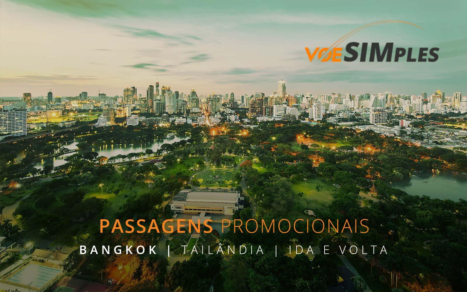 Passagens aéreas promocionais para Bangkok na Tailândia