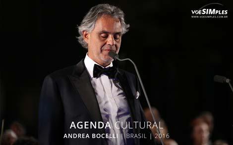 Andrea Bocelli Brasil 2016