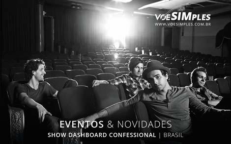 Show Dashboard Confessional no Brasil em 2016