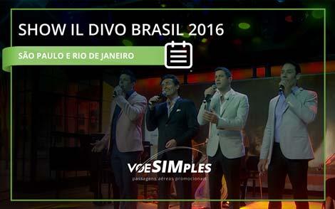 Show IL DIVO Brasil 2016