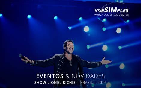 Show Lionel Richie Brasil 2016