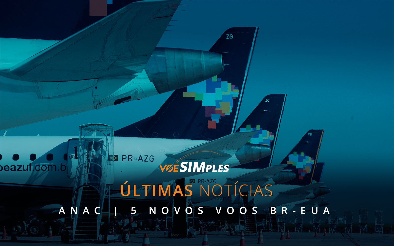 Voos Azul do Brasil para os Estados Unidos