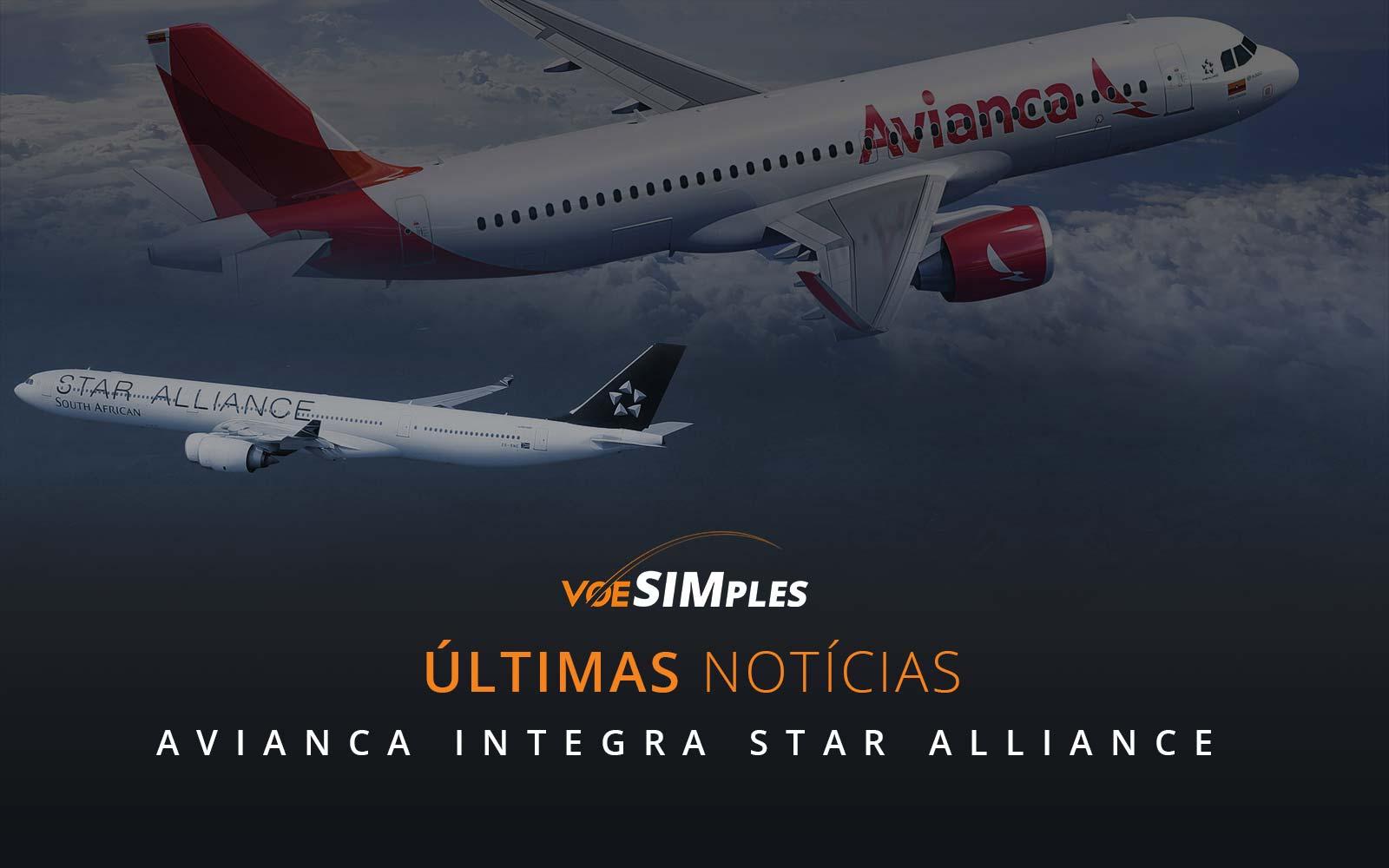 Avianca Brasil se une à Star Alliance