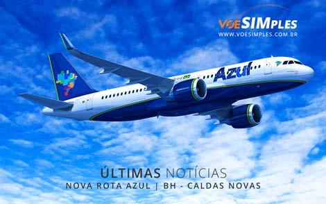 Nova rota Azul Belo Horizonte