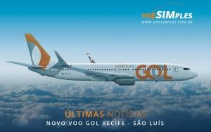 Voo direto entre Recife e São Luís