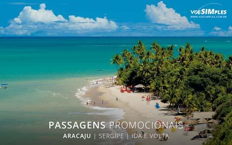 Passagens aéreas promocionais para Aracaju
