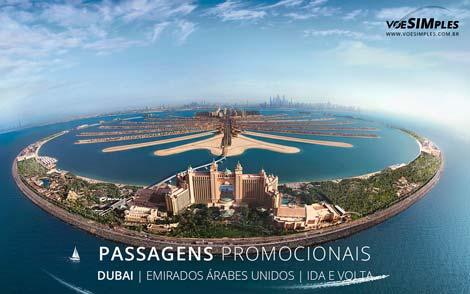 Passagens aéreas promocionais para Dubai
