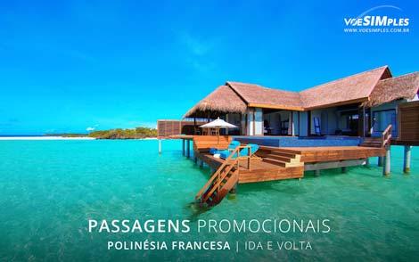 Passagens aéreas promocionais para a Polinésia Francesa