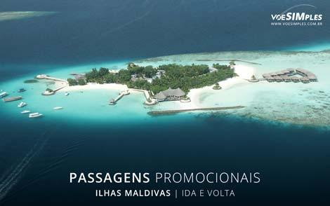 Passagens aéreas promocionais para Maldivas
