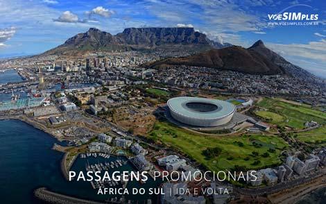 Passagem aérea para África do Sul