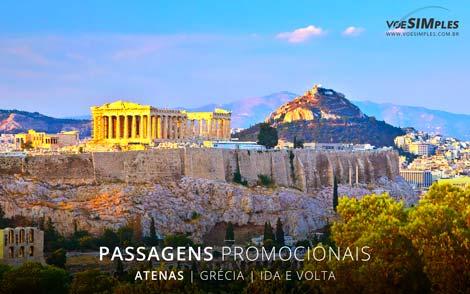 Passagens aéreas promocionais para Atenas