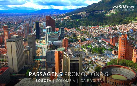 Passagem aérea para Bogotá