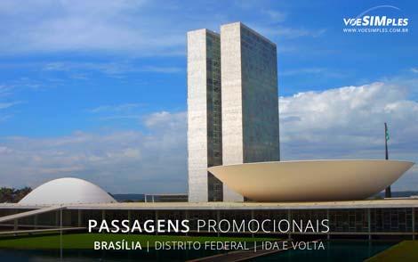 Passagens aéreas promocionais para Brasília