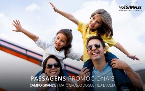 Passagens aéreas promocionais para Campo Grande