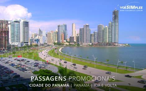 Passagens aéreas promocionais para a Cidade do Panamá
