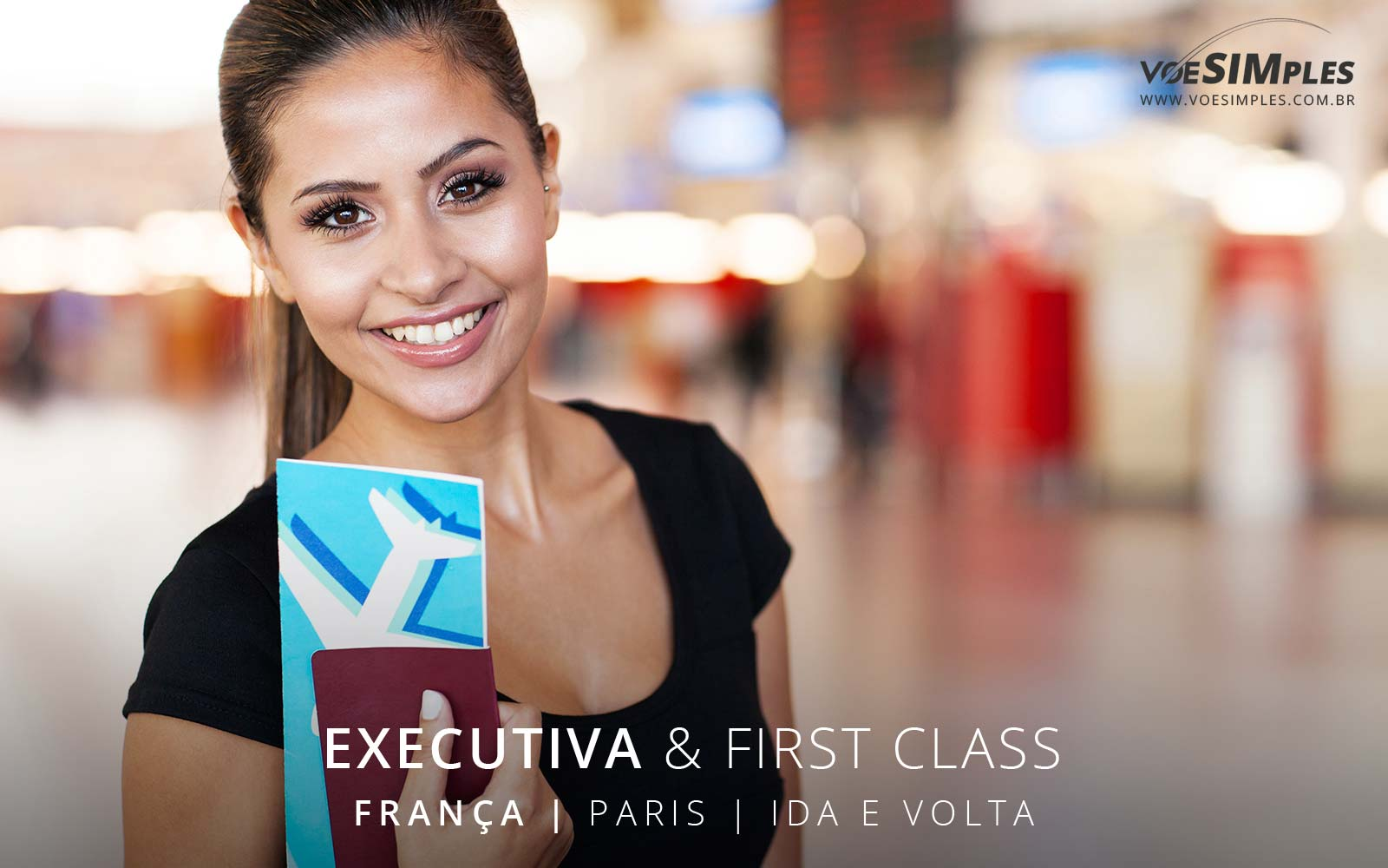 Passagem aérea Executiva Ibéria para Paris
