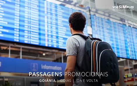 Passagens aéreas promocionais para Goiânia