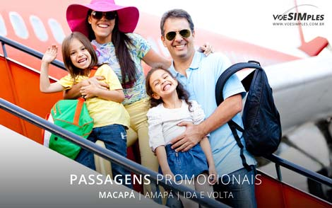 Passagem aérea para Macapá