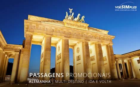 Passagens aéreas promocionais para Alemanha