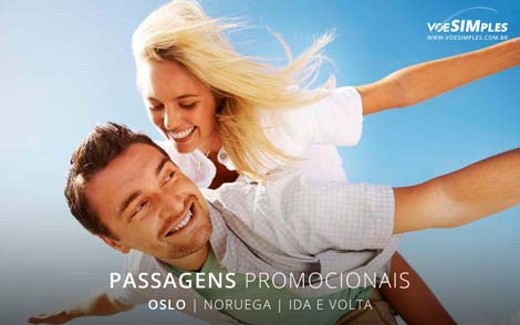 Passagens promocionais para Noruega