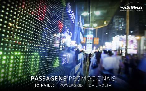 Passagem aérea para a Powergrid Brasil