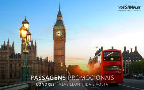 Passagens aéreas promo para viagens de ano novo
