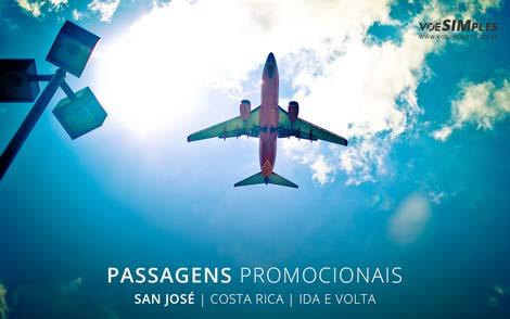 Passagem aérea para San José