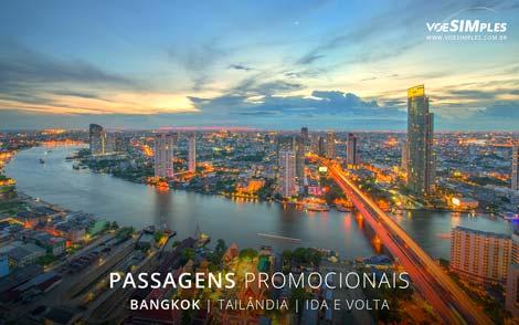 Passagem aérea para Bangkok