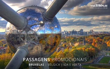 Passagem aérea para Bruxelas