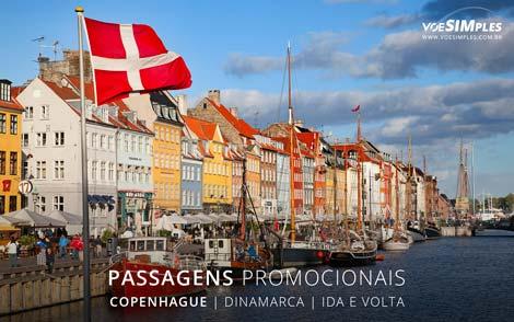 Passagem aérea para Copenhague