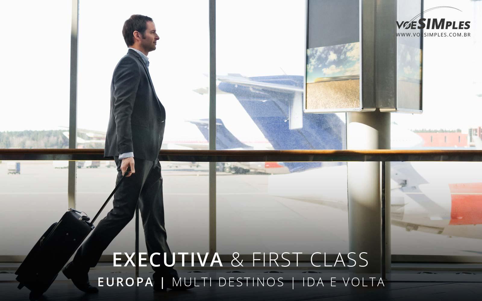 Passagem aérea Executiva TAP para Europa