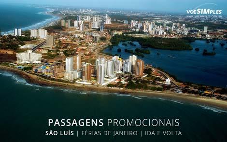 Passagem aérea imperdível de férias no Brasil para São Luís