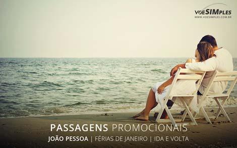 Passagem aérea de madrugada férias de verão 2017 para João Pessoa
