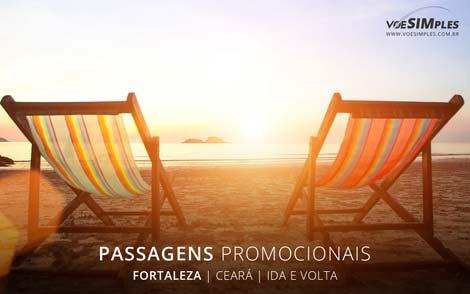 Passagem aérea para Fortaleza