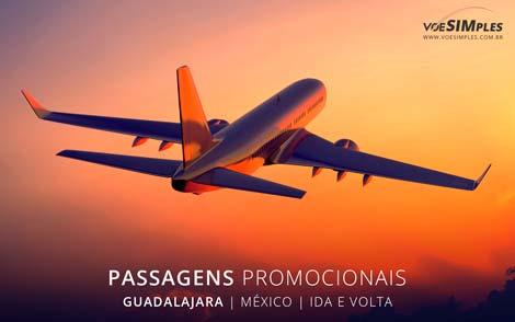 Passagem aérea para Guadalajara