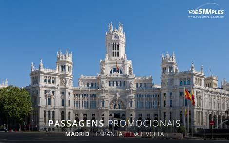 Passagem aérea para Madri