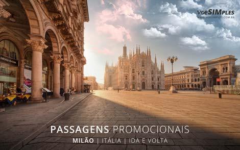 Passagem aérea para Milão