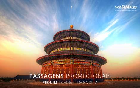 Passagem aérea para Pequim