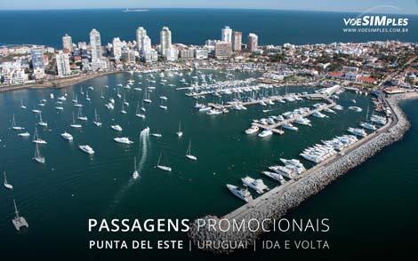 Passagem aérea para Punta Del Este