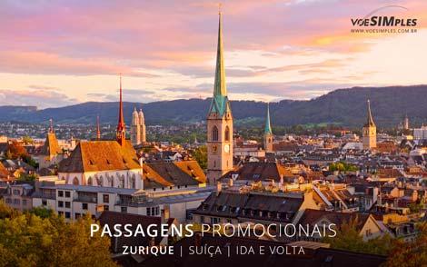 Passagem aérea para Zurique