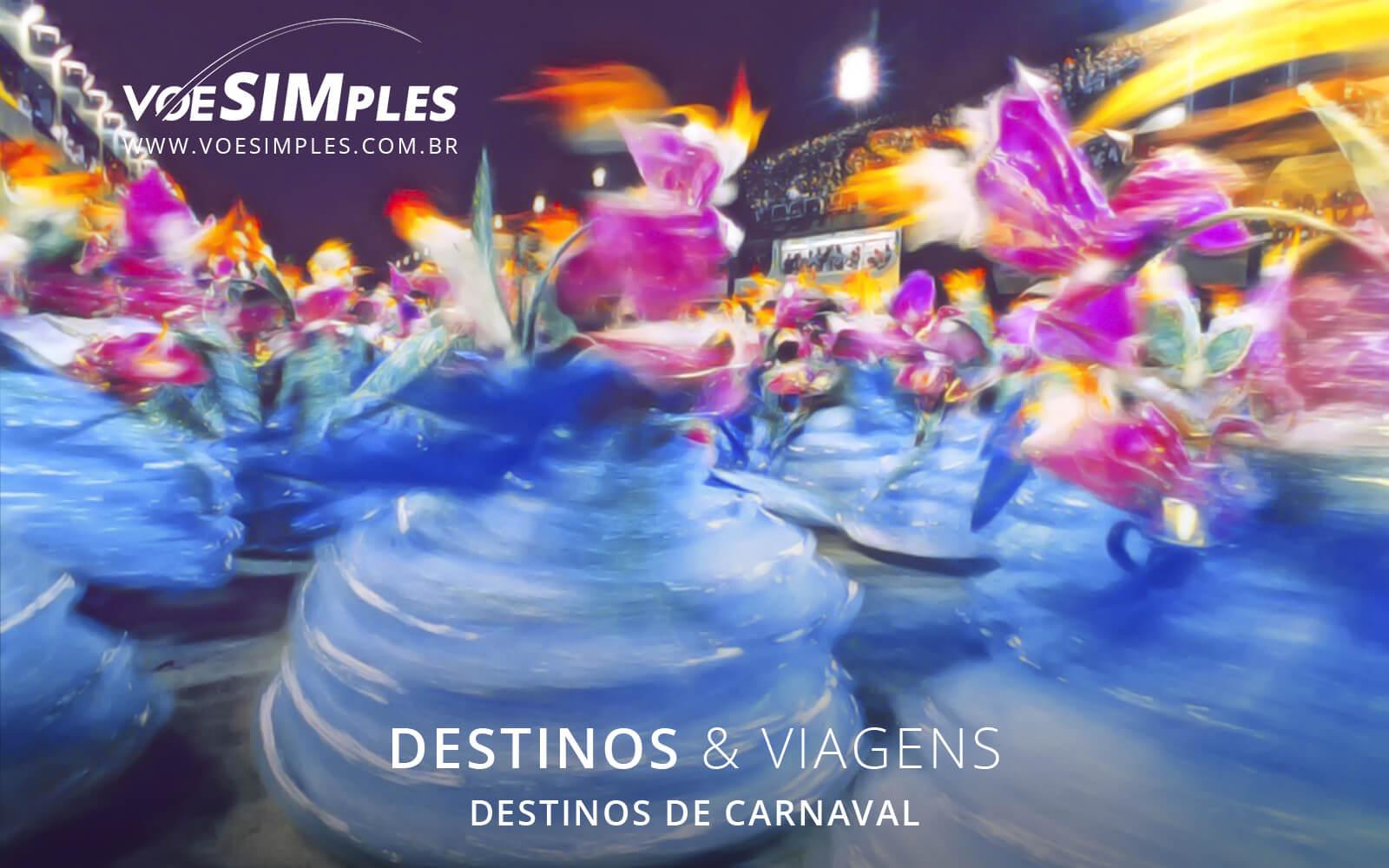 12 destinos sensacionais para passar o Carnaval   Voe Simples