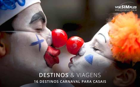 16 destinos de carnaval para casais